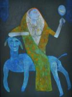 Jai Zharotia-EXTENSION OF DESIRE 1993-OIL ON CANVAS-48 X72 inches.jpg