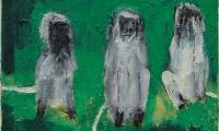 Three Monkeys Oil on canvas 24 x 24 inchs.jpg