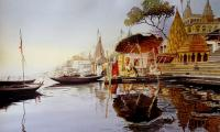 banaras ghat 2  15x22 water colour on paper.jpg
